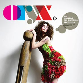 ORYX Luxury in-flight magazine was created for Qatar Airways by Can Can Creative