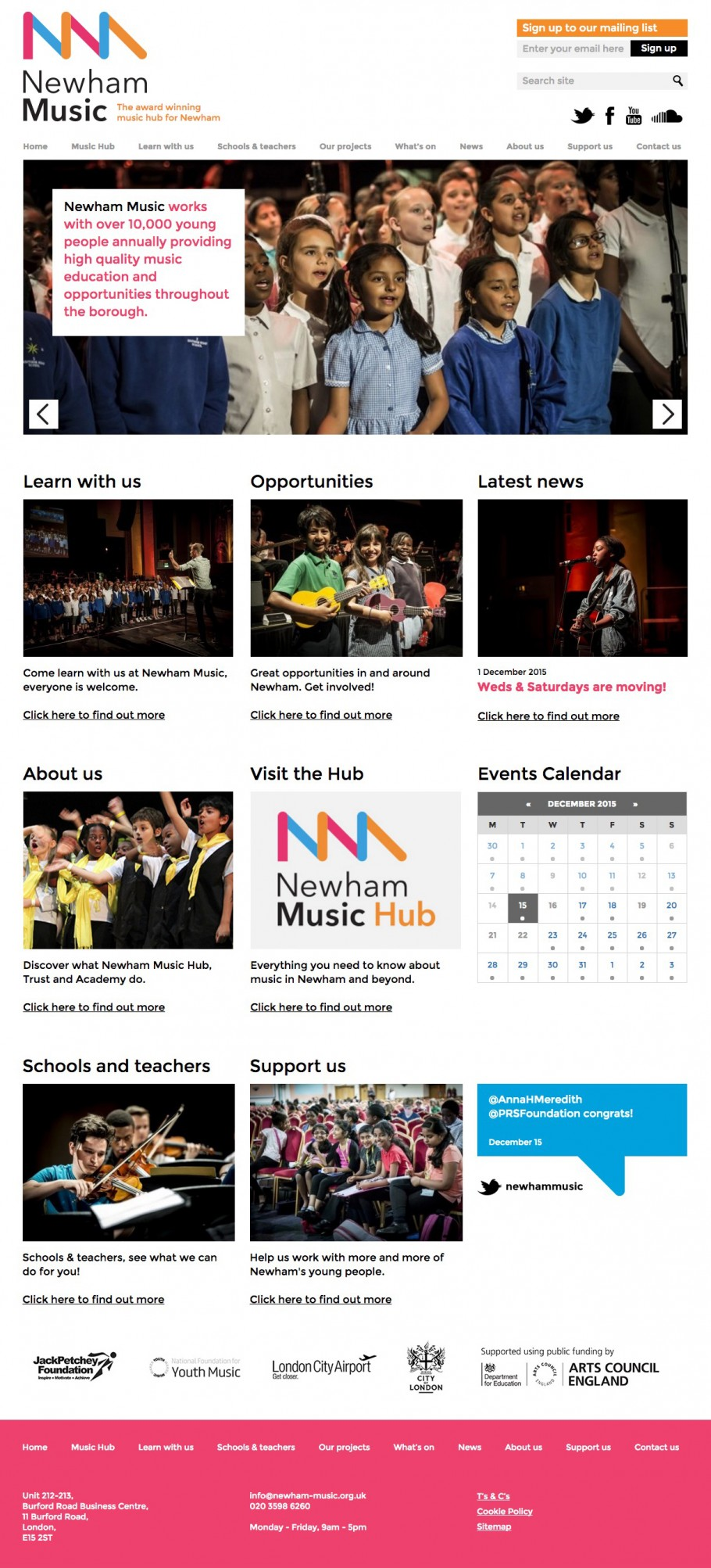 Newham website